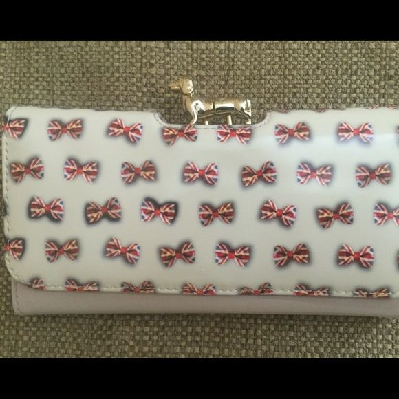 Ted Baker Union Jack Dachshund Matinee Wallet New, never used Ted Baker Union Jack Dachshund Bobble Matinee Wallet. Box not included. Ted Baker Bags Wallets