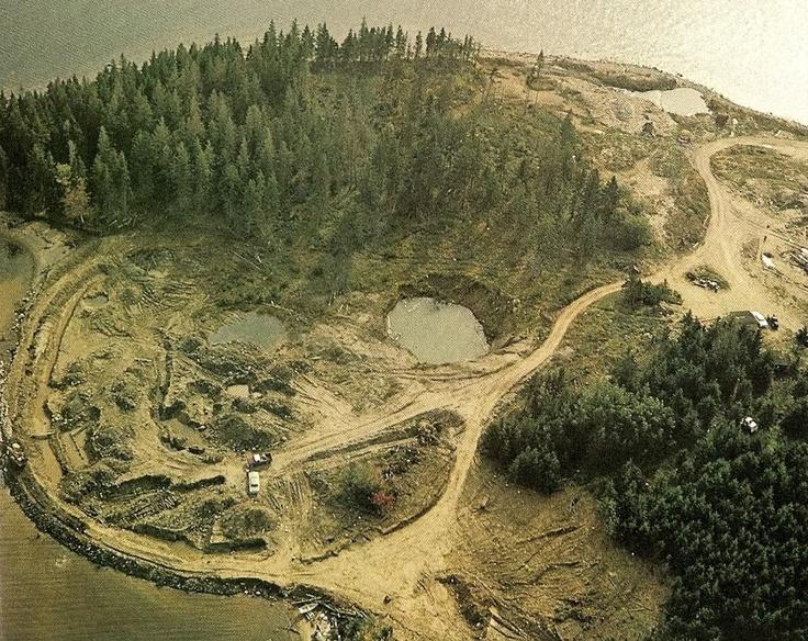 Money Pit -- Oak Island, Nova Scotia, Canada