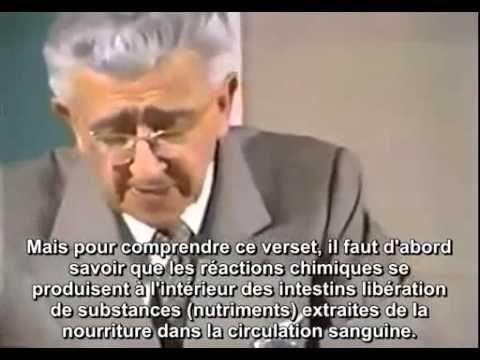 Dr Maurice Bucaille - La Bible, le Coran et la Science - YouTube