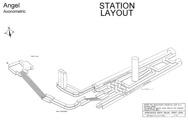 3D maps of every Underground station | IanVisits