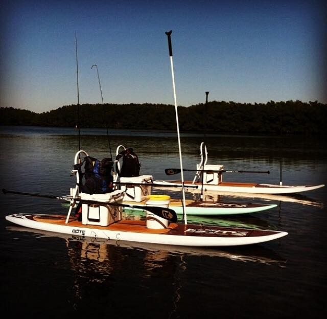 Sweet Paddle Board Fishing Rigs