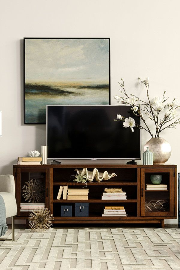 Best 25 tv console decorating ideas on pinterest for Table tv design