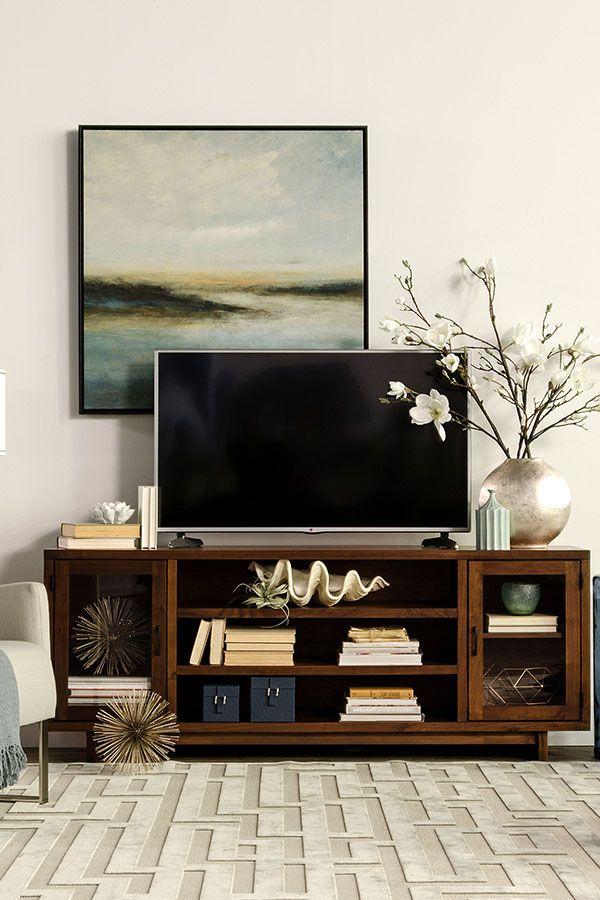 Best 25+ Tv console decorating ideas on Pinterest