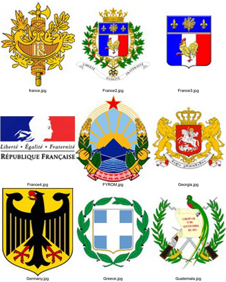 national symbols of all countries pdf