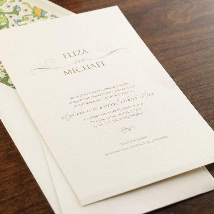 11 best eInvite Classic Bride Wedding Invitations images on ...