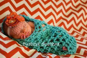 Newborn Caterpillar Cocoon | AllFreeCrochet.com