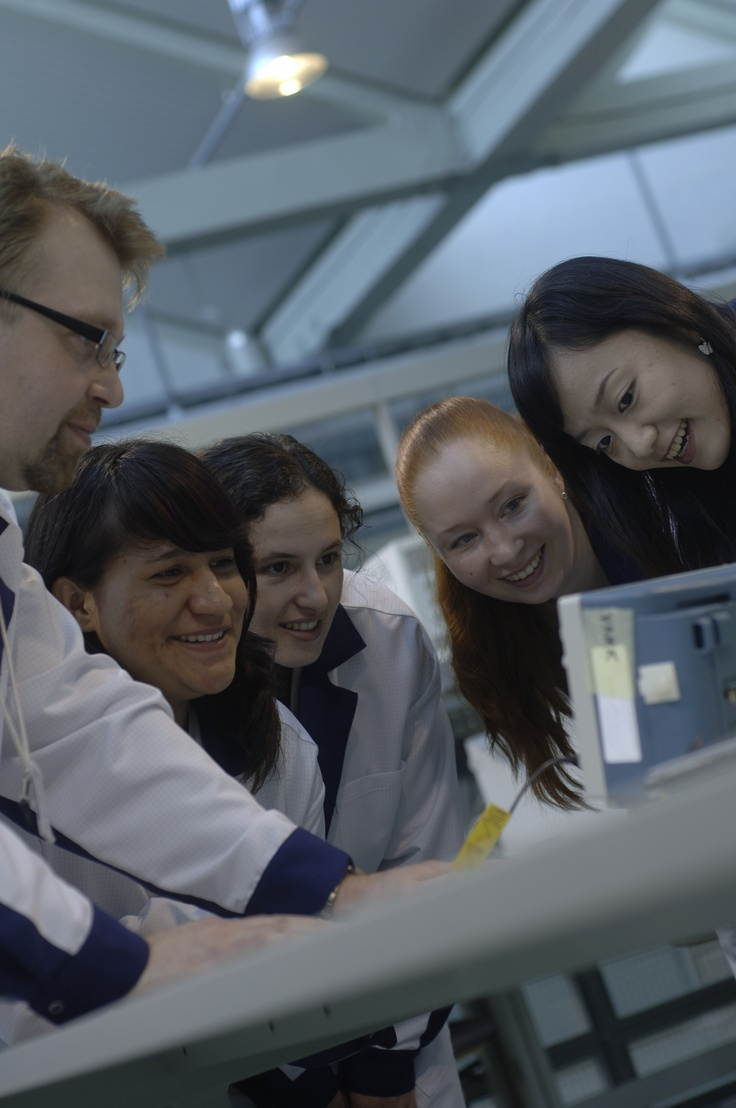 Information Technology -students in Technobothnia, Vaasa.