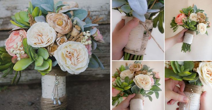 DIY: buquê de flores de seda econômico | Buscando sonhos