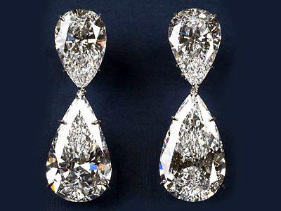 Pear shaped diamond earring from Harry WinstonDiamonds Earrings, Harrywinston, Drop Earrings, Harry Winston, Jewelry, Diamonds Drop, Wedding Rings, Wedding Earrings, Bling Bling