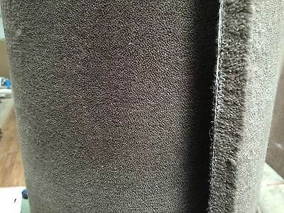 Handmade-Carpet-Remnant-Roll-End-Kasa-Pewter-Wool-4x2-15m-RRP-713-Deep-Pile