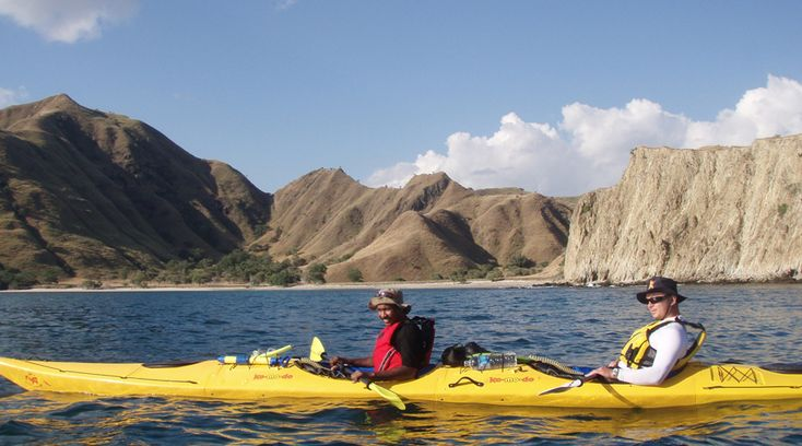 Komodo Sea Kayaking Adventure. www.pioneerexpeditions.com