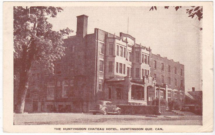 Huntingdon Canada The Huntigdon Chateau Hotel Viagg 1950 51414 | eBay