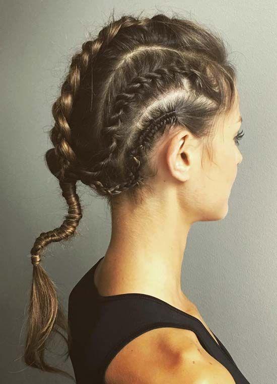 sporty hair styles