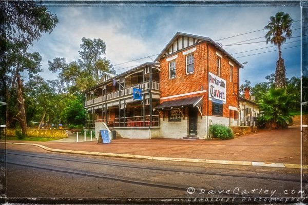 The Parkerville Tavern, Parkerville, Mundaring, Western Australia. One of our great historic Taverns and well worth a visit. It's near John Forrest National Park and with it being waterfall season why not visit National Falls and grab a bite to eat at the Parkervile it will make for a great day out this weekend!