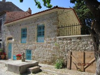 Characterful+old+stone+house+in+charming+Aegean+village+of+Eski+FocaVacation Rental in Izmir from @HomeAway! #vacation #rental #travel #homeaway
