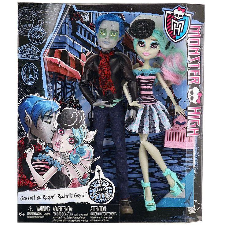 Monster High Love in Scaris [Garrott du Roque and Rochelle Goyle]