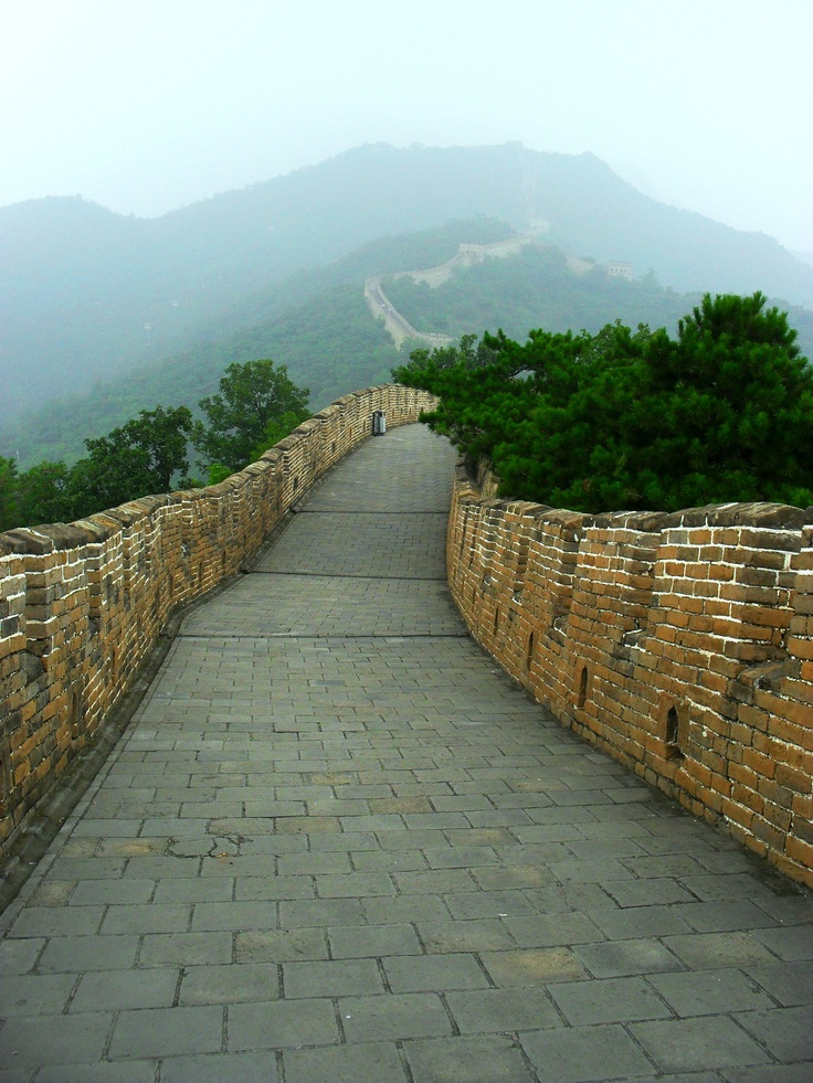 #PotentialistCanada - Trip Purpose 2: Travel and have new adventures - Walking along the Great Wall, China
