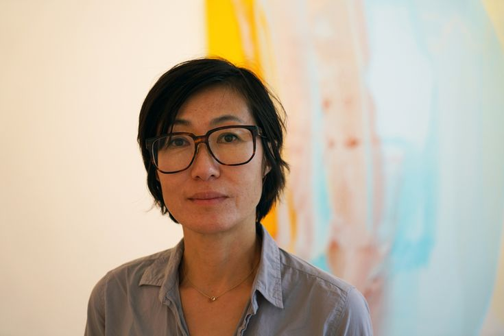 Yunhee Min is an artist based in Los Angeles. She is interested in painting  as foremost a studio practice,where hands-on engagement with the material  and the activity of making take priority. Although she has explored the  cultural, social, and historical dimensions of signification of color i