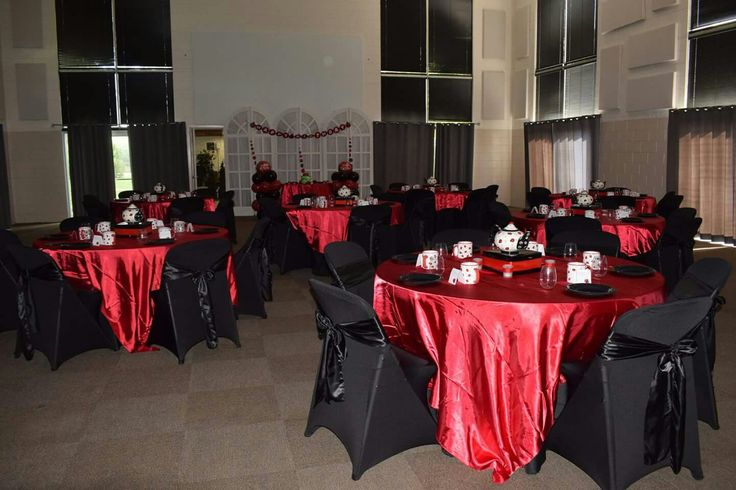Red and black ladybug birthday party