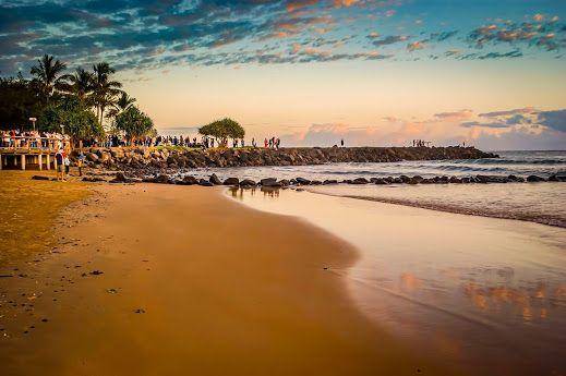 Dawn at Bargara Beach Qld Australia