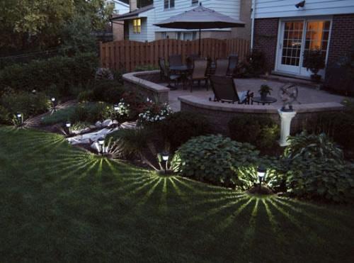 Best Garden Lighting Ideas Images On Pinterest Garden