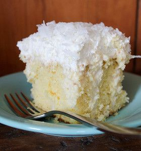 This simple cake recipe is a southern classic that tastes even better than it looks. Coconut Drippy Cake is a coconut cream poke cake recipe that's super moist and ultra-delicious. Although this is a cake recipe from scratch, you can also use cake mix to create this delectable dessert.
