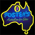 Fosters Australia Neon Beer Sign 16x16, Fosters Neon Beer Signs & Lights | Neon Beer Signs & Lights. Makes a great gift. High impact, eye catching, real glass tube neon sign. In stock. Ships in 5 days or less. Brand New Indoor Neon Sign. Neon Tube thickness is 9MM. All Neon Signs have 1 year warranty and 0% breakage guarantee.