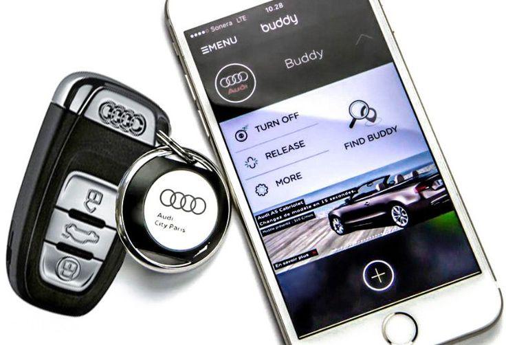 #BiiSafe Buddy is een slimme en stijlvolle oplossing voor het vinden van je smartphone, sleutels en tas etc. Het werkt via een app, je kunt ook je locatie delen. Het is design, duurzaam en geproduceerd in Finland. Volledig te customizen!
