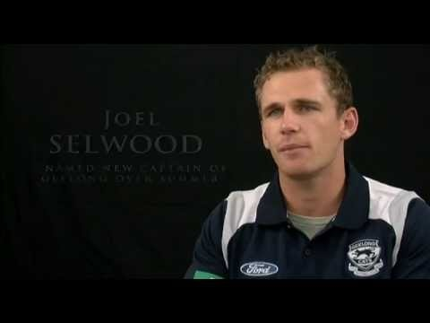 Cats captain Joel Selwood speaks about why he fits as Cats captain.