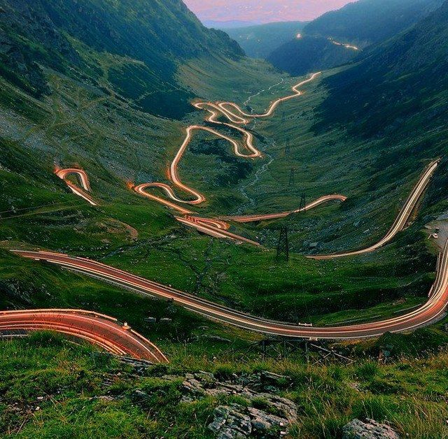 Transfagarasan Road in Romania -World's Best road according to Top Gear !