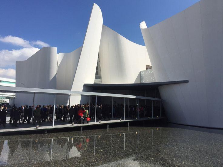 Inaugurado el Museo Internacional del Barroco de Toyo Ito en Puebla, México