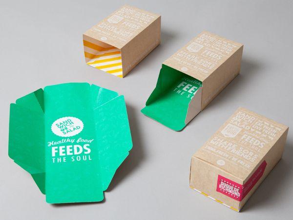 Sandwich or Salad on Branding Served