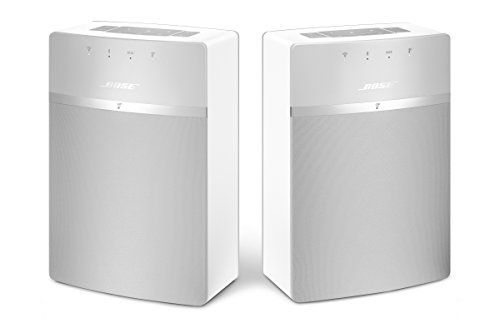 Bose SoundTouch 10 x 2 Wireless Starter Pack, White Bose