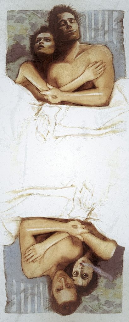 ''Bed Club'' print by Paul Shipper #fightclub #tylerdurden #mindfuck