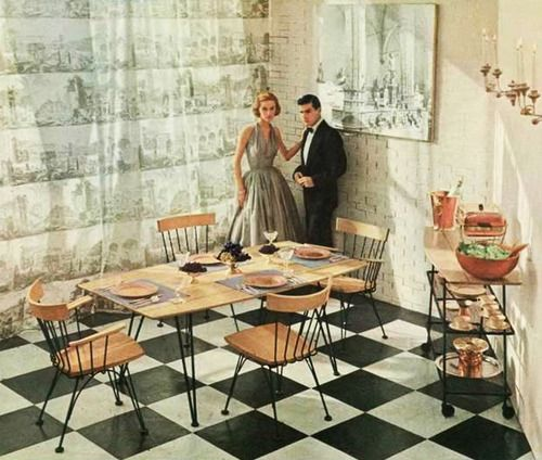 672 Best Mid Century Dining Rooms Images On Pinterest