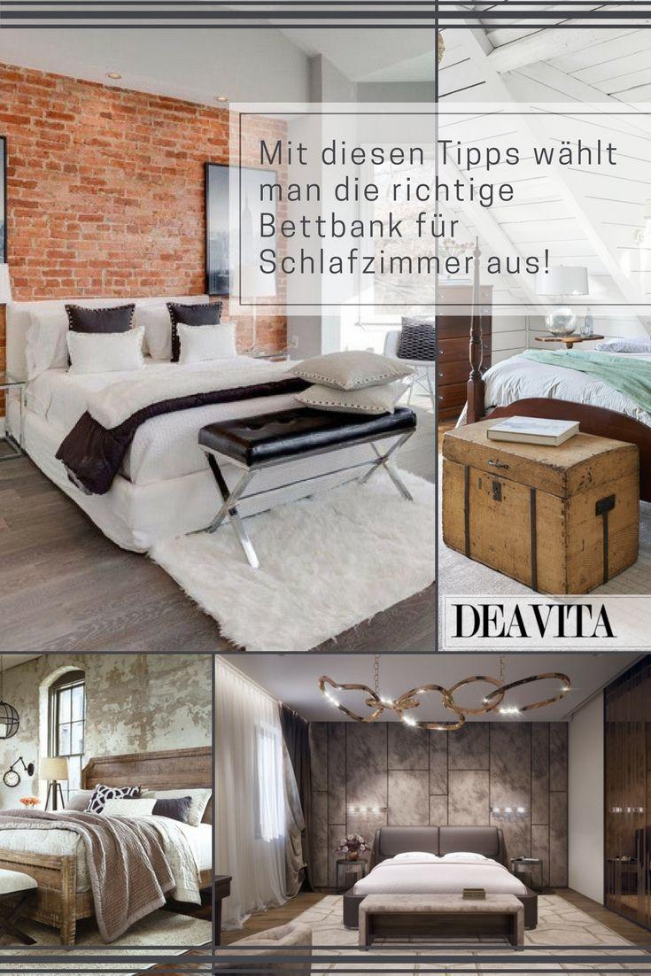 Die Auswahl Der Perfekten Bettbank Für Schlafzimmer Fällt Nicht Immer  Leicht. Farblich Und Stilistisch Muss
