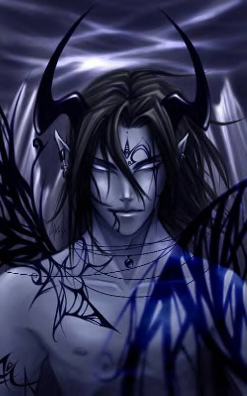 Hot naked demon drawings — pic 6