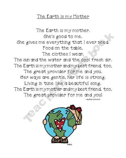 earth day poems for kids - photo #4