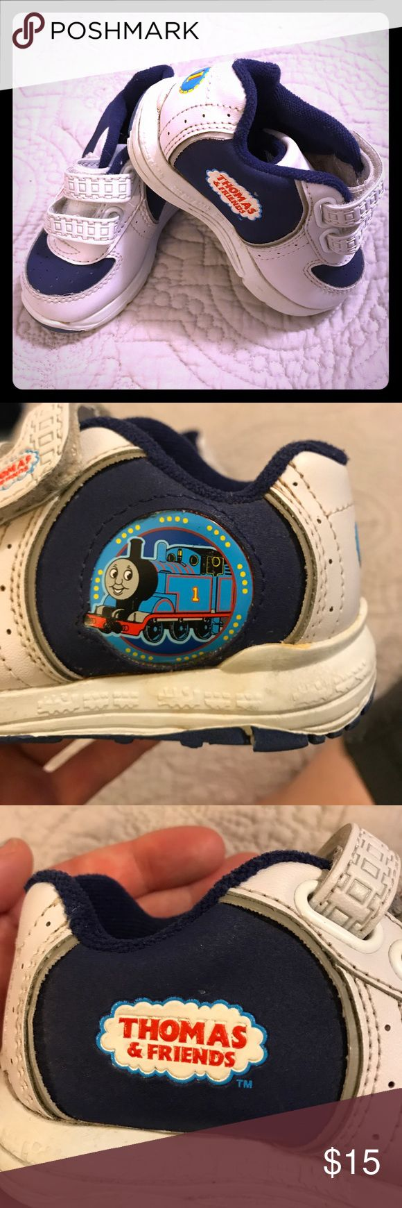 Thomas the Train Shoes Thomas the train shoes in excellent condition. Some discoloration from storage otherwise unworn. Like new! thomas the train Shoes Sneakers