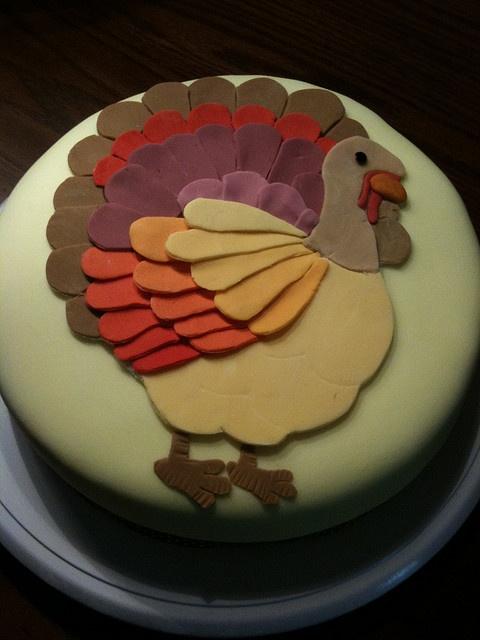 A Turkey Cake