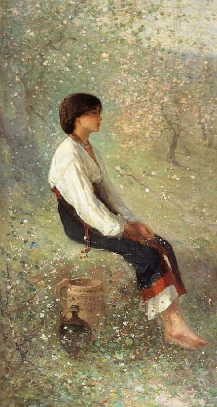Nicolae Grigorescu - Rodica (Primăvara), 1881
