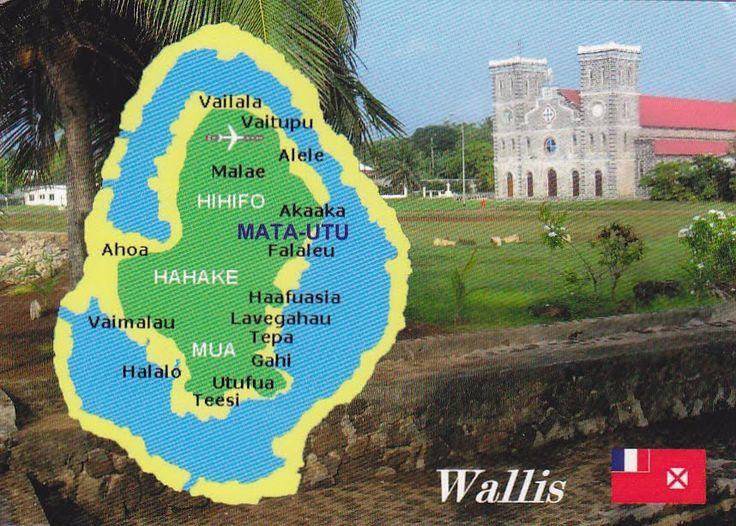 Best Islands Wallis Futuna Is New Caledonia Images On - Wallis and futuna map