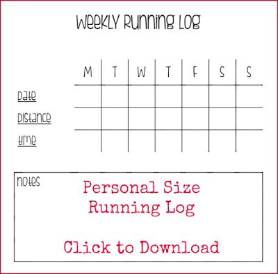 25 best ideas about Run Log – Running Log Template