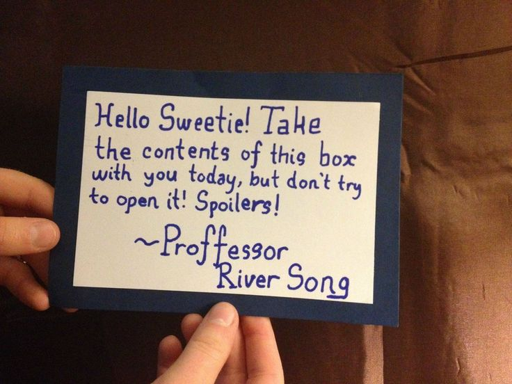 Best Proposal Ive Ever Seen The Thought And Creativity Doctor Who