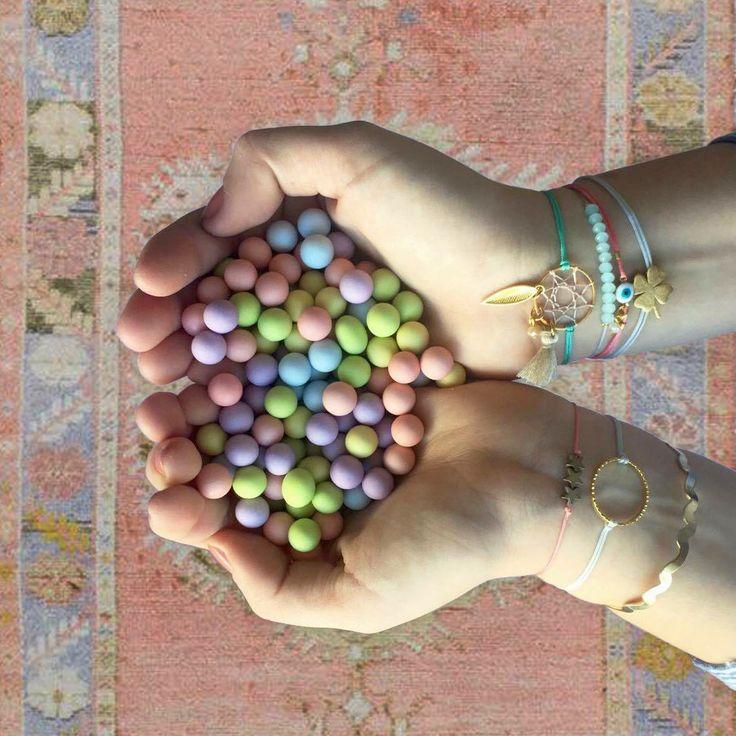 Mylifelikes armcandies #armcandies #armparty #charms #bracelets #karmabracelets #dreamcatcher #greekdesigner #mylilelikes