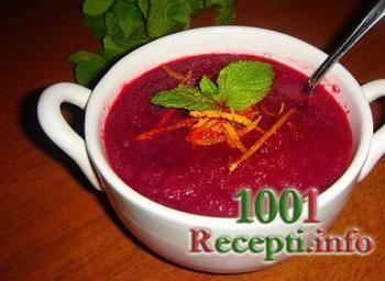 Рецепт-Постный суп из свеклы с апельсиновой цедрой | Постные блюда