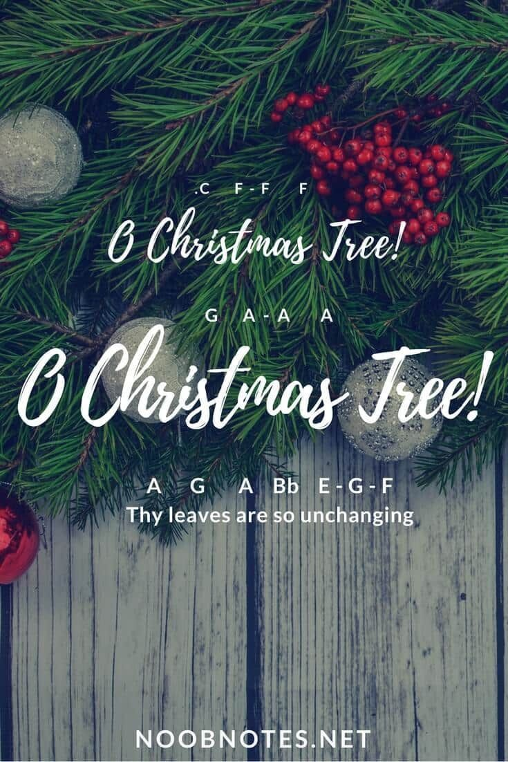 music notes for newbies: O Christmas Tree! – Traditional. Play ...