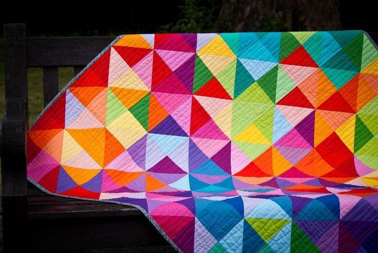 Postcard from Sweden Quilt: A Free Fat Quarter Quilt Pattern