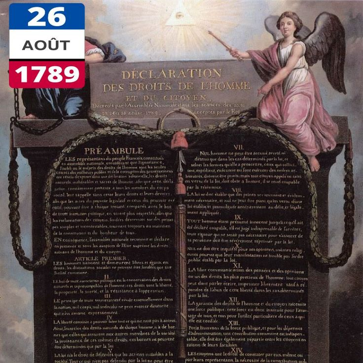 the declaration of the rights of man and of the french citizen in the late 18th century The declaration of the rights of the man and of the citizen of 1789 (french: déclaration des droits de l'homme et du citoyen de 1789), set by france's national constituent assembly in 1789, is a human civil rights document from the french revolution.