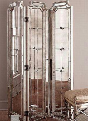biombo de espejos